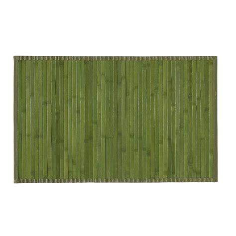 tapis bambou pas cher tapis bambou salle de bain maison design modanes