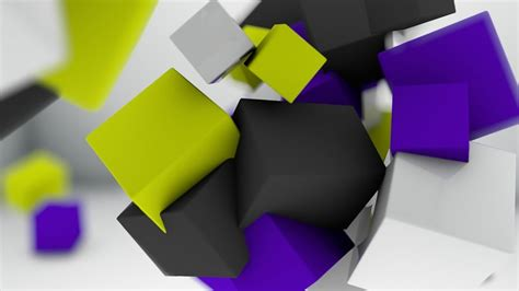 Abstract 3d Cube Wallpaper by Floating 3d Cube Wallpaper 3d Wallpapers 3d Cube