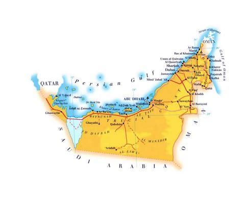 maps  united arab emirates collection  maps  uae