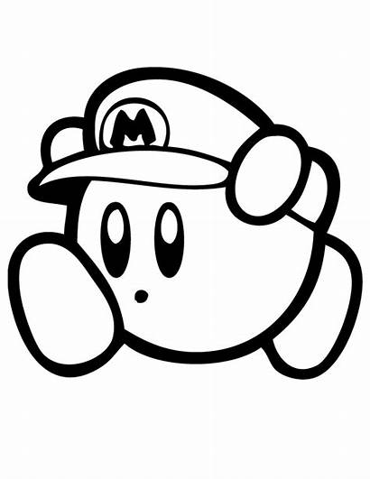 Coloring Mario Pages Paper Popular