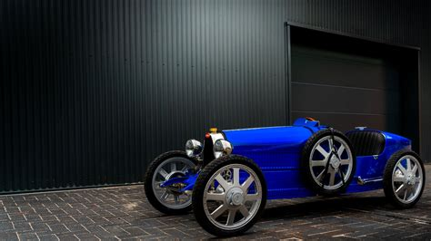 To celebrate the company's 110th birthday, the 'baby ii' will be released in the same quantity, but with a number of modern twists. Bugatti Baby II Is the $68,000 Go-Kart Your Kid Will Crash and Leave Outside in the Rain