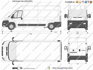Fiat Ducato Dimensions Exterieures : the vector drawing fiat ducato van lwb ~ Medecine-chirurgie-esthetiques.com Avis de Voitures