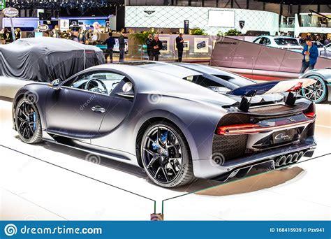 Taking my mansory bugatti to la's biggest car show! Bugatti Chiron Sport At Geneva International Motor Show, Dream Cars, Bugatti Exhibition Site ...