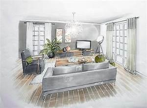 les 25 meilleures idees de la categorie dessin perspective With dessiner maison en 3d 2 interieur maison en perspective