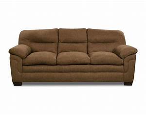 wonderland saddle microfiber sofa at menardsr With sectional sofa menards