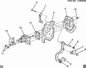 Chevrolet Silverado Retainer  Brake Master Cylinder