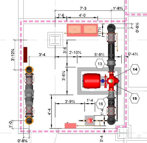 Fire fighting design
