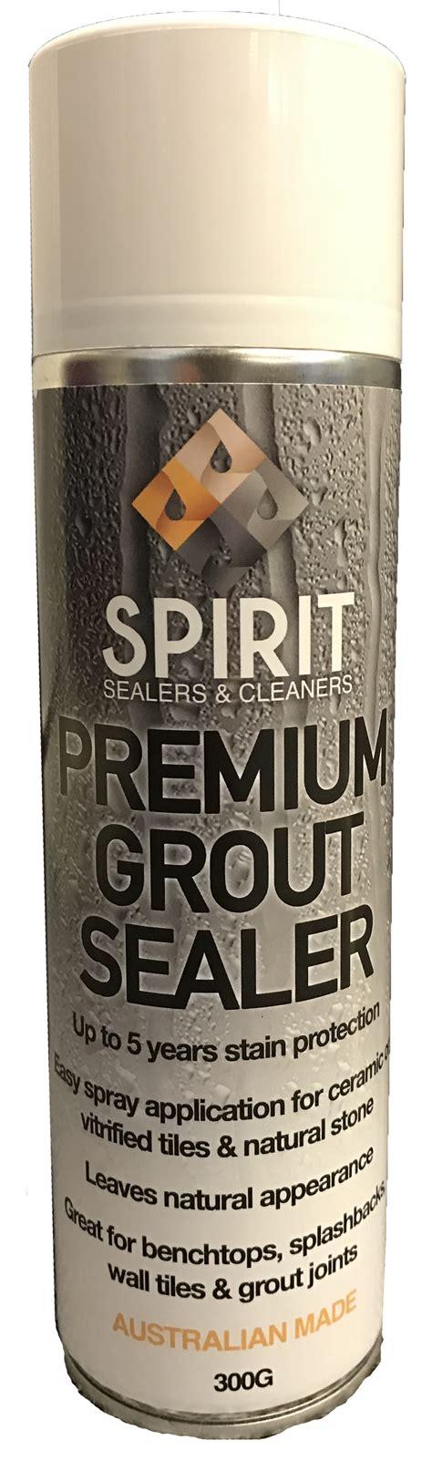 spirit premium grout sealer spirit sealers