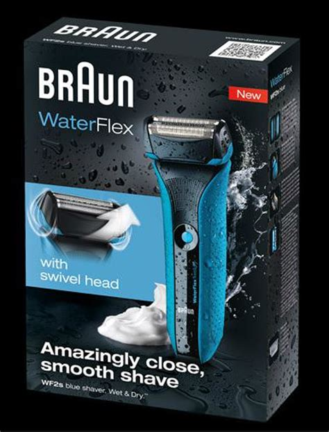 braun waterflex blue review  electric shaver reviews apr