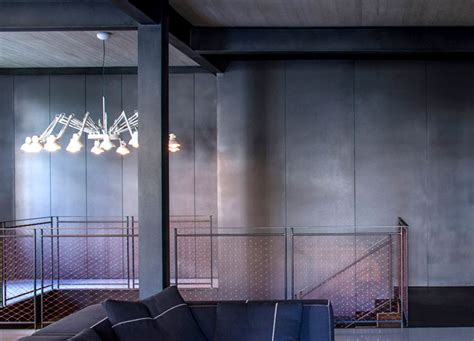 industrial style inspired interior  pitsou kedem