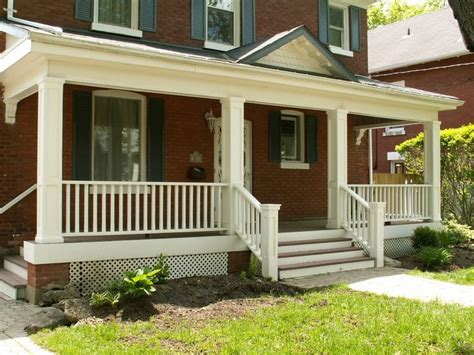 Wooden Porch Ideas by Interesting Front Porch Ideas For Outdoor Home Decoration