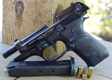 Ekol Jackal Dual Compact Front Firing 9mm P.a.k. Blank Gun