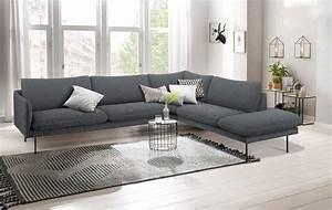 Möbel Skandinavischer Stil : andas ecksofa mavis mit ottomane und losen sitz und ~ Lizthompson.info Haus und Dekorationen