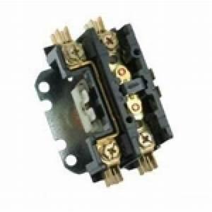1 230 Volt Air Conditioning Contactor   Coil Voltage 24