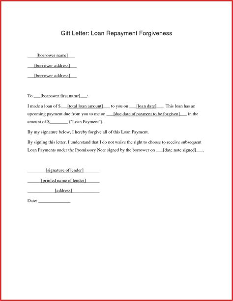 personal loan repayment letter template samples letter