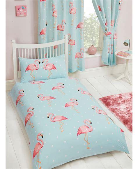grey comforter fifi flamingo single duvet cover and pillowcase set