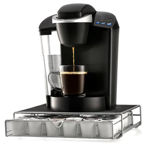 Amazon brand solimo coffee keurig cup review | tightwad tuesday. K-Cliffs K-cup Storage Organizer Keurig Brewing Machine Holder K cup Coffee Pods Drawer Holds 36 ...