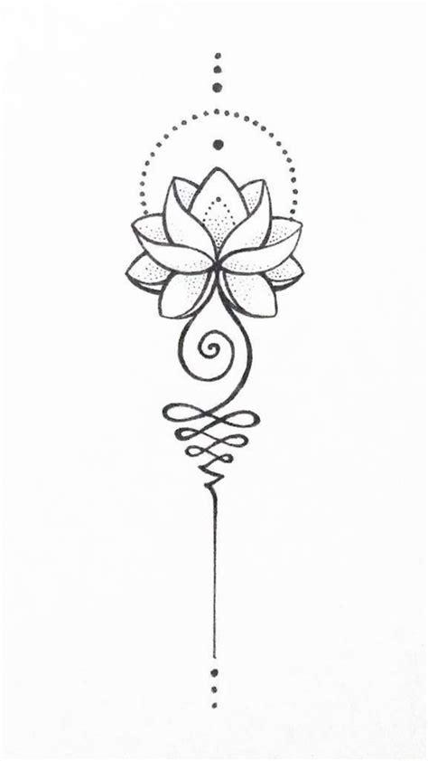 Unalome lotus - #lotus #unalome   lotus   Unalome tattoo