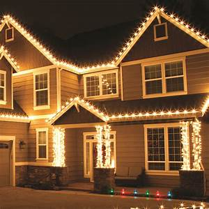 Outdoor christmas lights for Exterior christmas lights