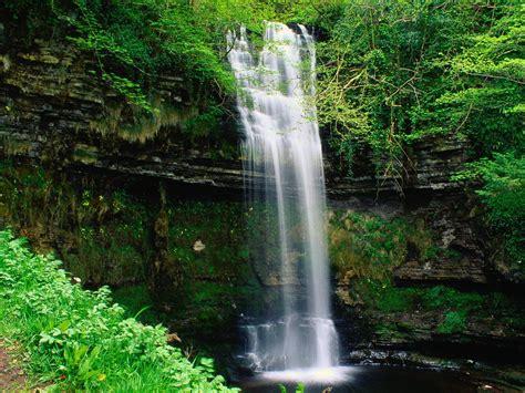 landscape waterfalls glencar waterfall waterfalls natural landscape wallpapers