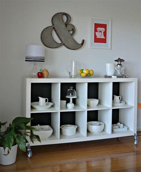 ikea etagere cuisine étagère kallax ikea 69 idées originales de l 39 utiliser