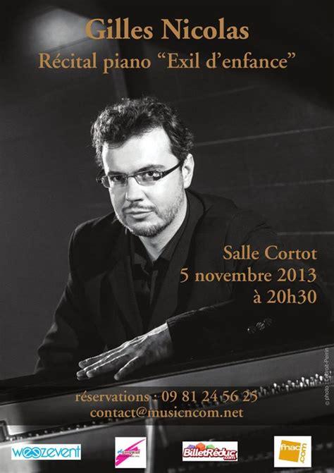salle cortot concert gratuit r 233 cital piano salle cortot gilles nicolas blue tempo
