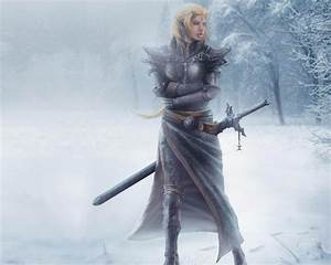 Winter Warrior Art - ID: 17688