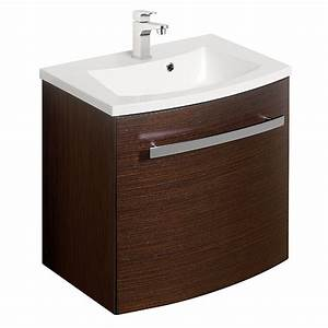 bauhaus stream wall hung vanity unit with basin wenge With wenge vanity units for bathroom
