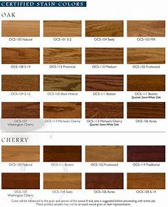 Image Gallery oak wood stain