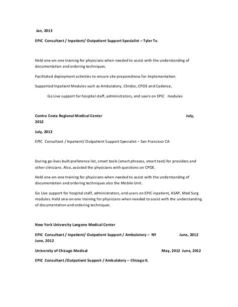 epic resume ambulatory filetype pdf