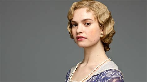 abbey downton lily james film rose lady mia tv movies cast mamma series star movie role finale british returns period