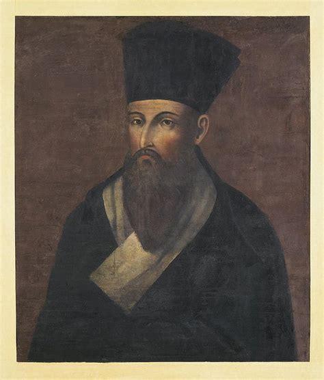 portrait   missionary matteo ricci hermitage museum