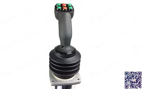 runntech single axis 10k ohm potentiometer with 1 momentary trigger joystick controller