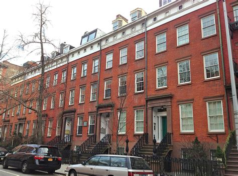 New York Citys House 2013 by The Loveliest Stretch Of Houses In Chelsea Ephemeral