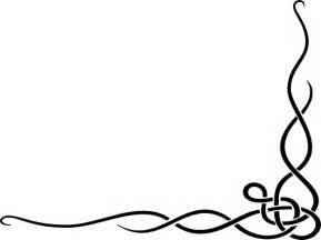 Swirl Border Clip Art Free