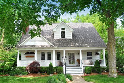 Such Cape Cod Front Porch Design Designing