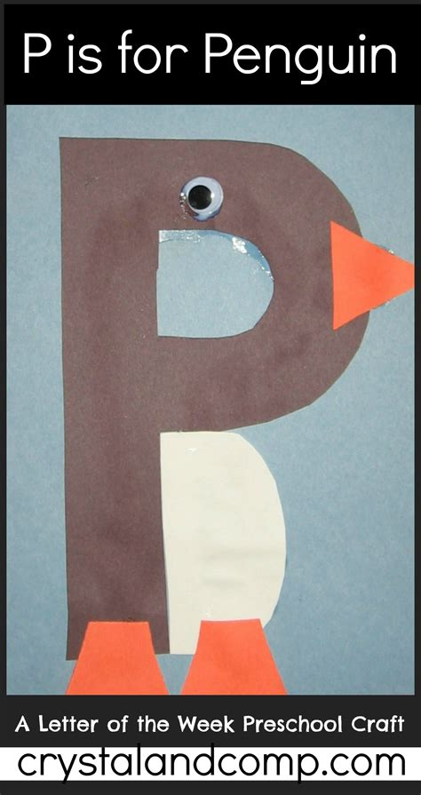 alphabet activities for preschoolers letter of the week p 945 | P is for Penguin 1 crystalandcomp