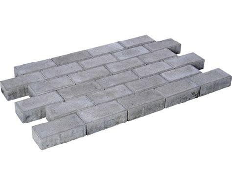 pflastersteine grau 20x10x6 rechteckpflaster grau 20x10x8cm bei hornbach kaufen