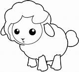 Sheep Coloring Pages Printable Sheet Onlinecoloringpages sketch template