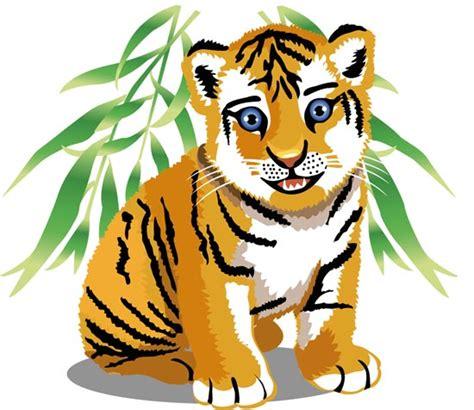 jungle animals cartoon vectors clipart  clipart