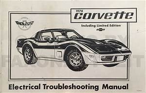 1978 Chevy Repair Shop Manual Original Camaro Chevelle El Camino Monte Carlo Nova Corvette
