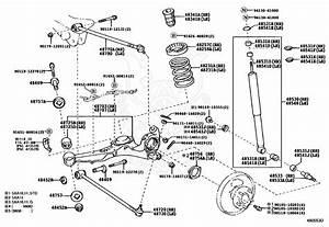 Toyotum Rav4 Rear Suspension Part