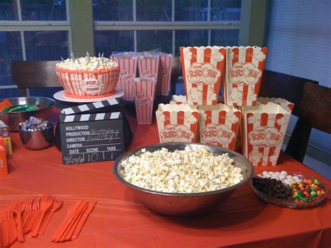 Movie Party  Ee  Ideas Ee   For  Ee  Birthday Ee   Party