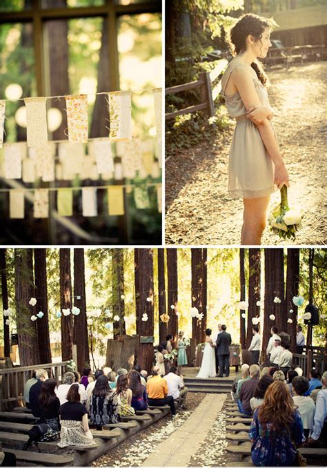 Pastel Vintage Wedding In The Woods