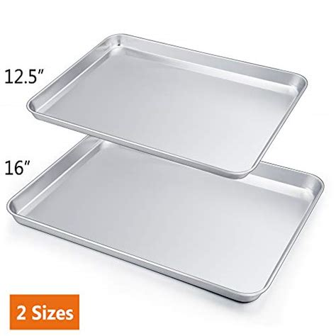 sheet cookie baking stainless steel toxic non professional pan rust pans dishwasher finish chef healthy coolest safe mirror clean easy