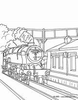 Train Coloring Steam Pages Tunnel Station Locomotive Subway Drawing Print Getting Drawings Getdrawings Front Printable 470px 7kb Getcolorings Rail Hellokids sketch template
