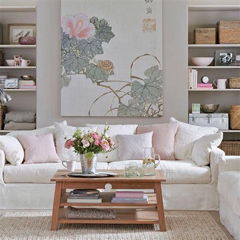 Weiß Und Rosa Wohnzimmer  Ev  Pinterest Rosa