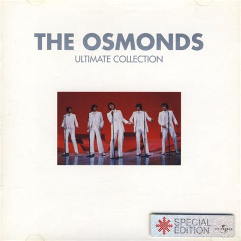The Osmonds  Ultimate Collection (special Edition) (cd