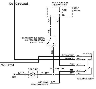 Need Wiring Diagram Park Avenue Ultra Fuel Pump