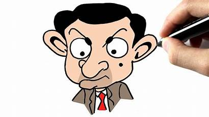 Bean Mr Cartoon Drawing Draw Learn Teddy